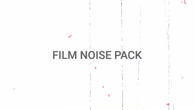 Film Noise Pack: Stock Motion Graphics