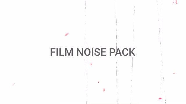 Film Noise Pack: Stock Motion Graphics