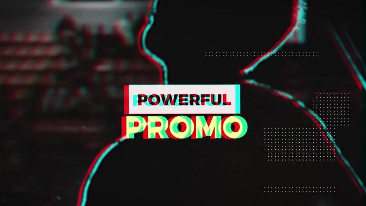 Powerful RGB Promo: Premiere Pro Templates