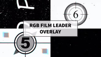RGB Film Leader Overlay: Motion Graphics