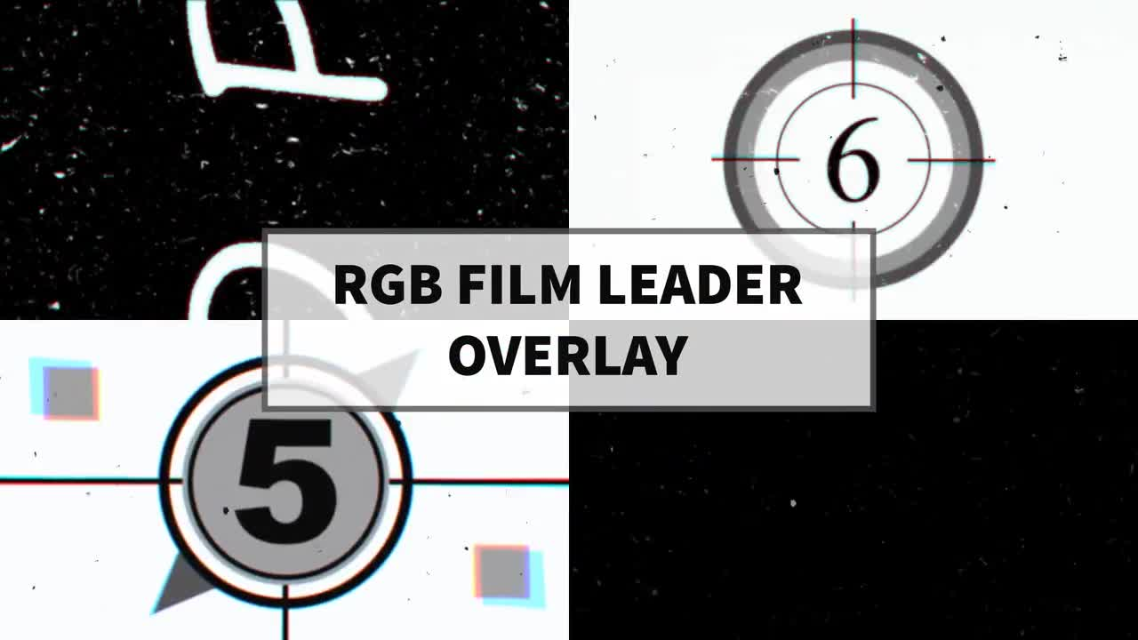 RGB Film Leader Overlay 64034