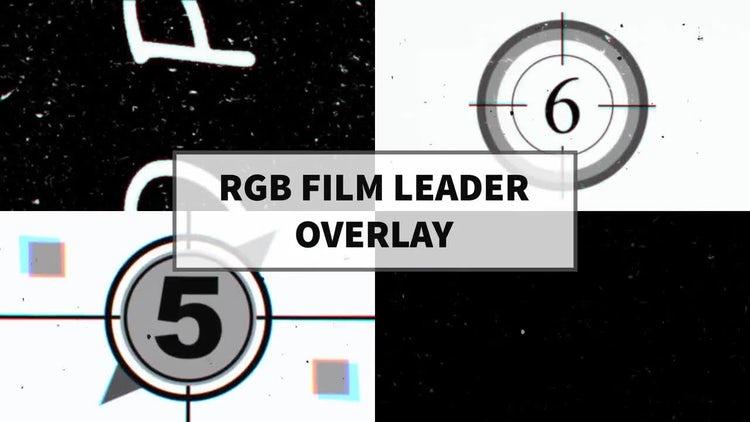 RGB Film Leader Overlay: Motion Graphics