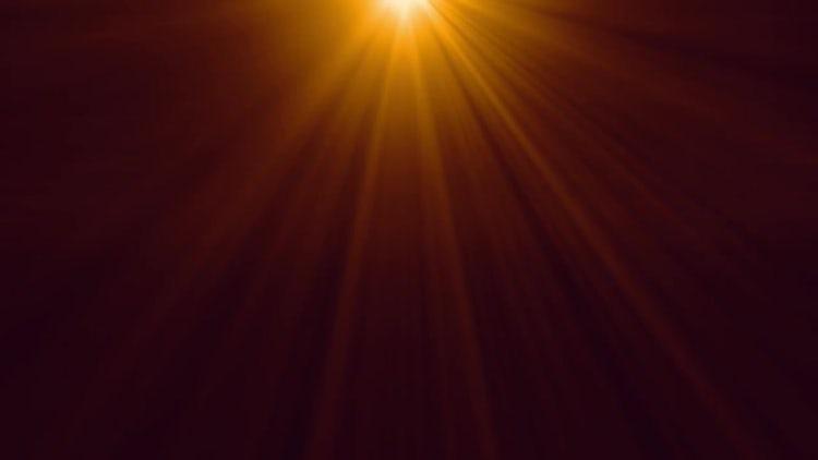 Gold Light Beam: Motion Graphics