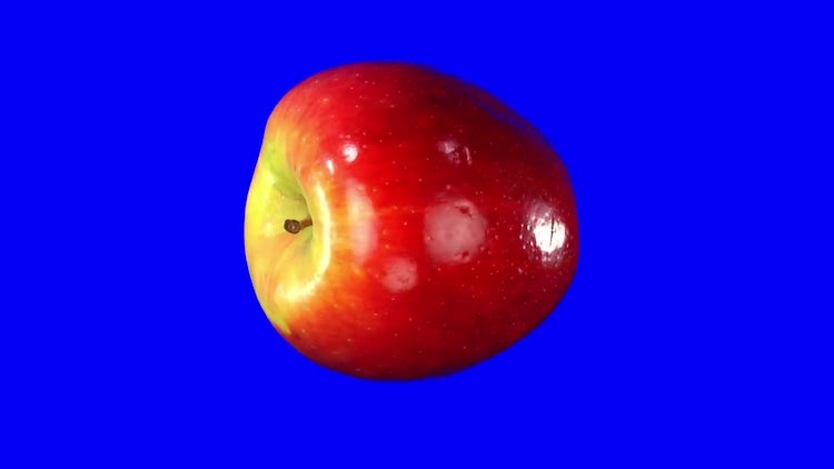 Rotating Seamless Looping Red Apple: Stock Video