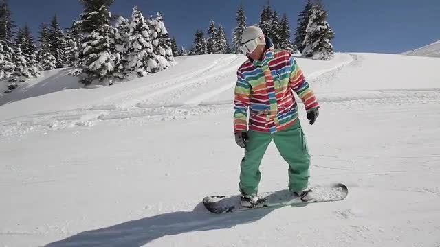 Snowboarder: Stock Video