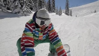 Snowboarder: Stock Footage