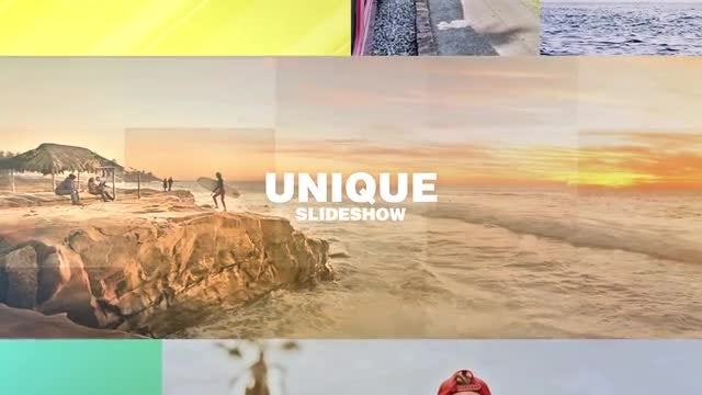 Travel Multiframe Slideshow: After Effects Templates