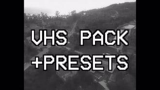 VHS Pack + Presets: Premiere Pro Templates