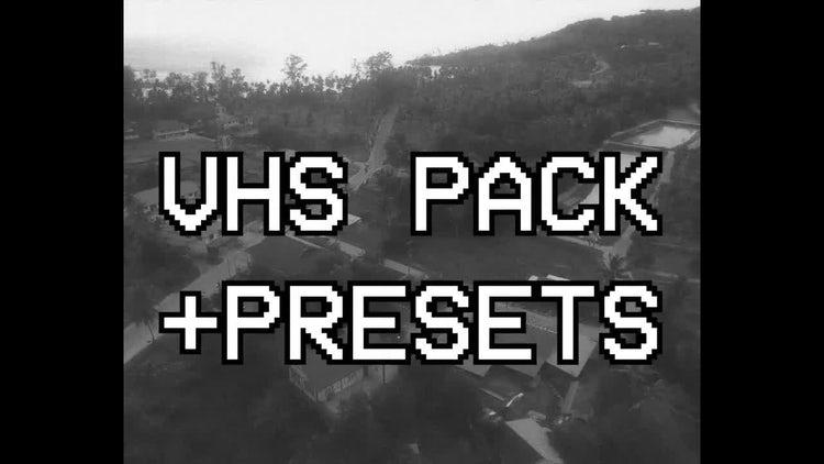 VHS Pack + Presets: Premiere Pro Presets