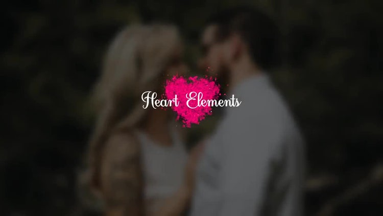Hearts Elements: Stock Motion Graphics
