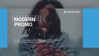 Modern Promo Slideshow: Premiere Pro Templates