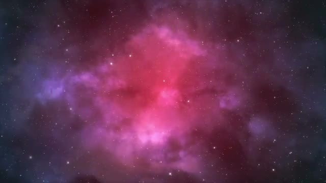 Pink And Purple Space Background : Stock Motion Graphics