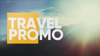 Travel Promo: Premiere Pro Templates