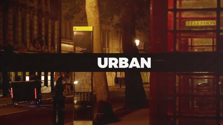 Urban Slideshow: Premiere Pro Templates