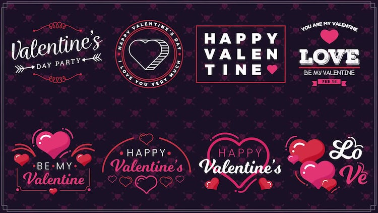 Valentine's Day II: After Effects Templates