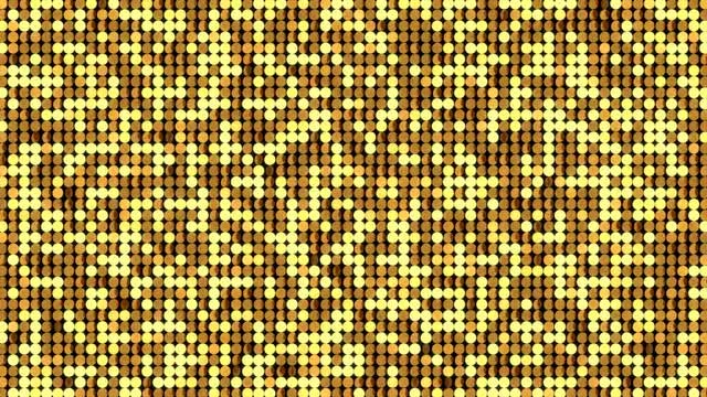 Gold LED Stage Background: Stock Motion Graphics