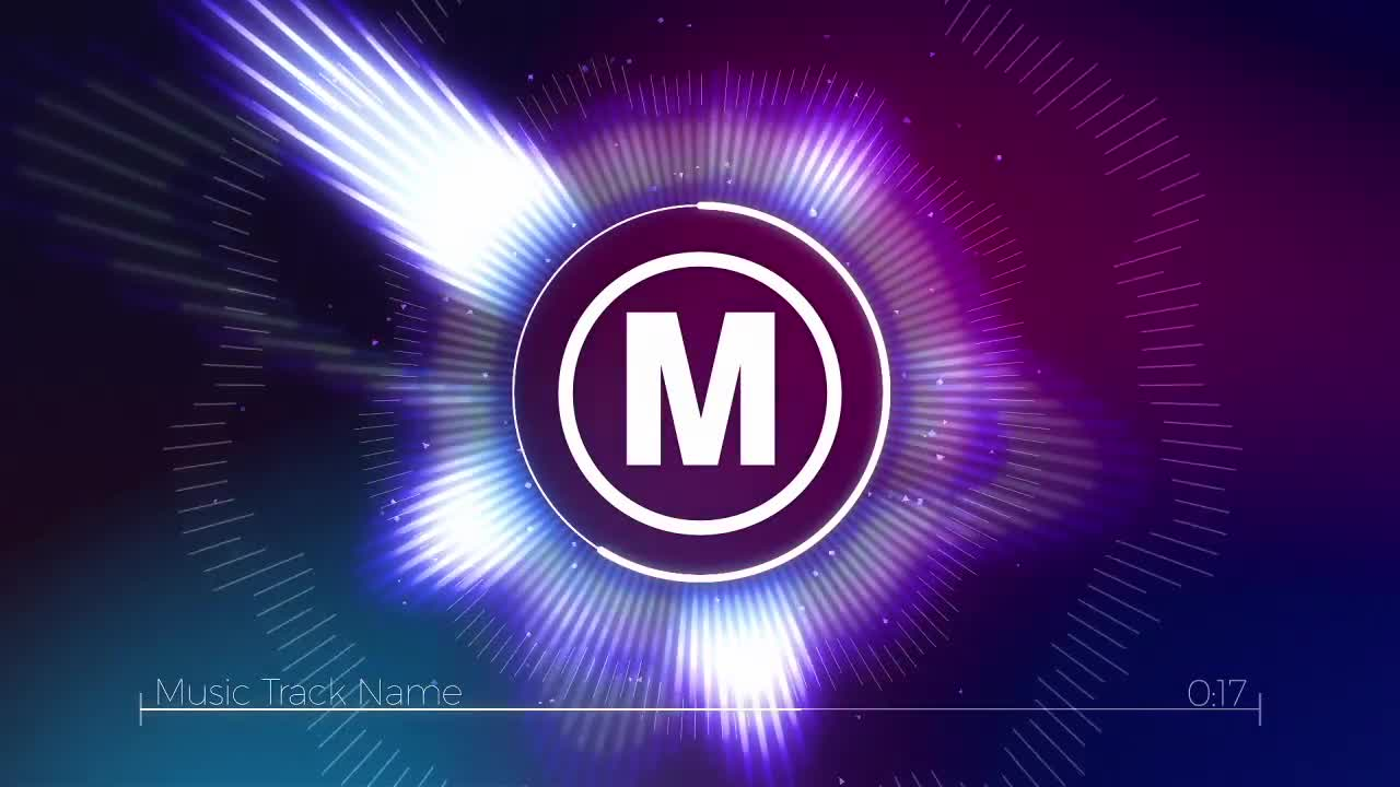 Audio Spectrum Logo - After Effects Templates   Motion Array