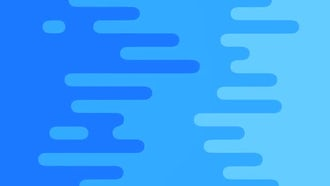 Blue Curved Bars Loop: Motion Graphics
