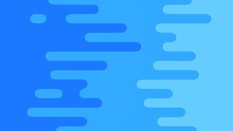 Blue Curved Bars Loop: Stock Motion Graphics