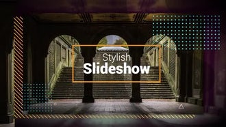 Stylish Slideshow: Premiere Pro Templates