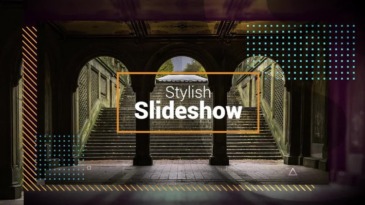 Stylish Slideshow: Premiere Pro Templates