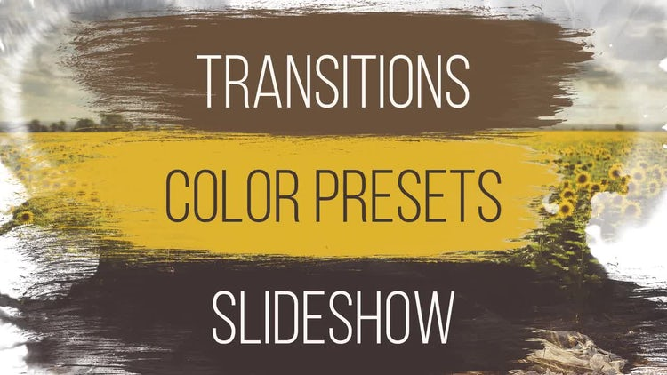 Wedding: Transitions, Color Presets, Slideshow: Premiere Pro Templates