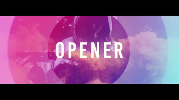 Colorful Short Stomp Opener: After Effects Templates