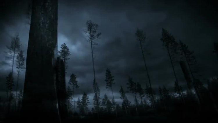 Lightning Storm: Motion Graphics