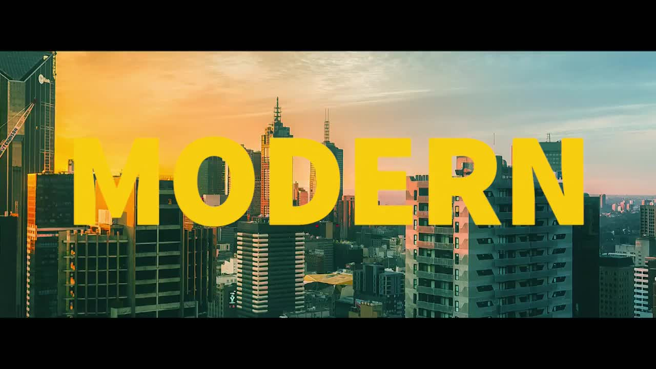 Modern Urban Slideshow - Premiere Pro Templates 64365