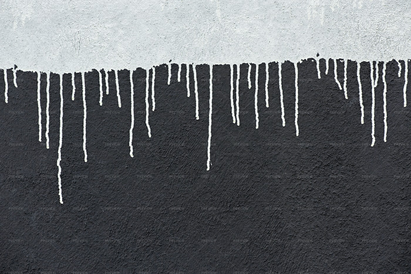 White Paint Dripping: Stock Photos