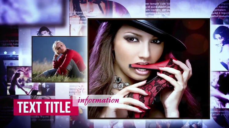 Fashion Style - Photo Gallery: After Effects Templates