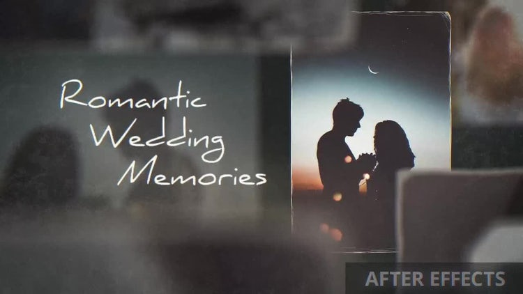 Romantic Wedding Memories: After Effects Templates