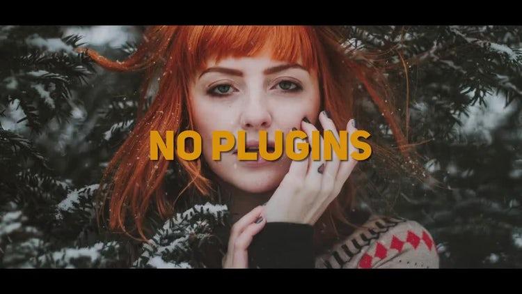 Dynamic Winter Slideshow: Premiere Pro Templates