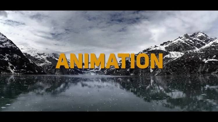 Dynamic Winter Slideshow: After Effects Templates
