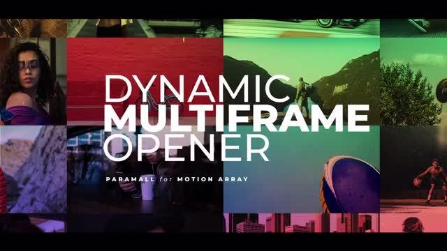 Dynamic Multiframe Opener: Premiere Pro Templates