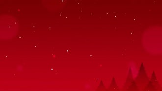 Christmas Red Background: Motion Graphics