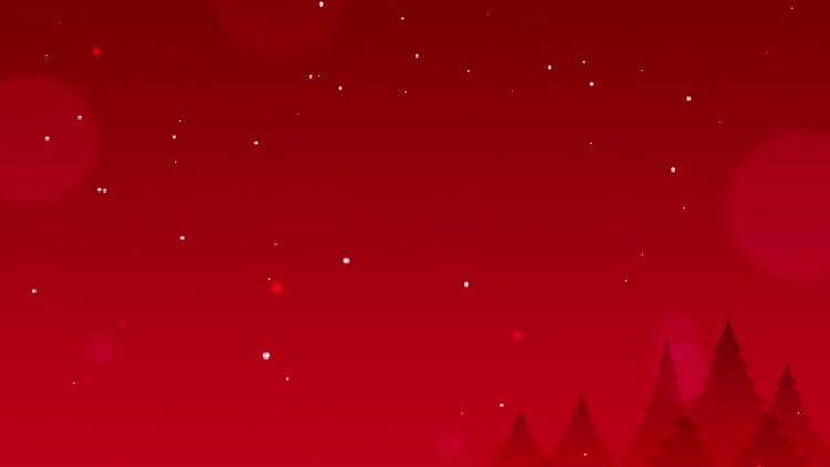 Christmas Red Background: Stock Motion Graphics