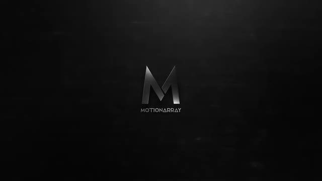 Dark Metal Logo: After Effects Templates