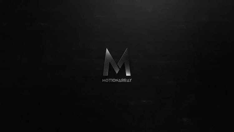 Dark Metal Logo: After Effects Templates