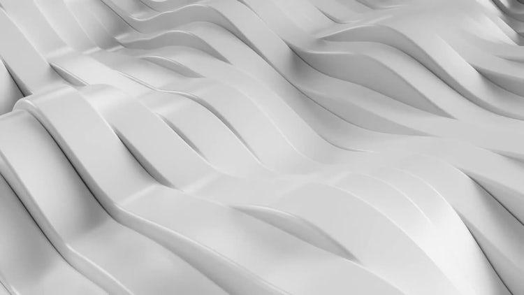 Wavy White Background: Motion Graphics