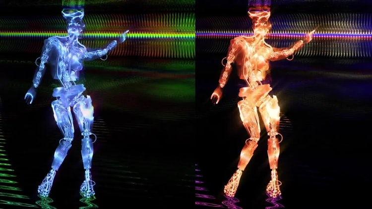Sci-Fi Dance: Motion Graphics