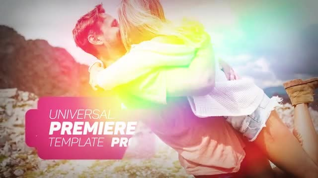 Universal Slideshow 2: Premiere Pro Templates
