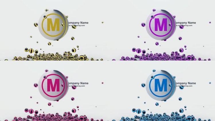 Spheres Animation: Premiere Pro Templates