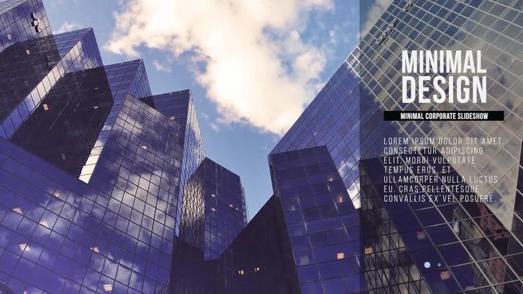 Minimal Corporate Slideshow: Premiere Pro Templates