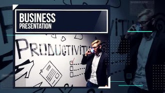 Corporate Upbeat Slideshow: After Effects Templates