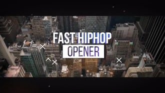 Fast Hiphop Opener: After Effects Templates