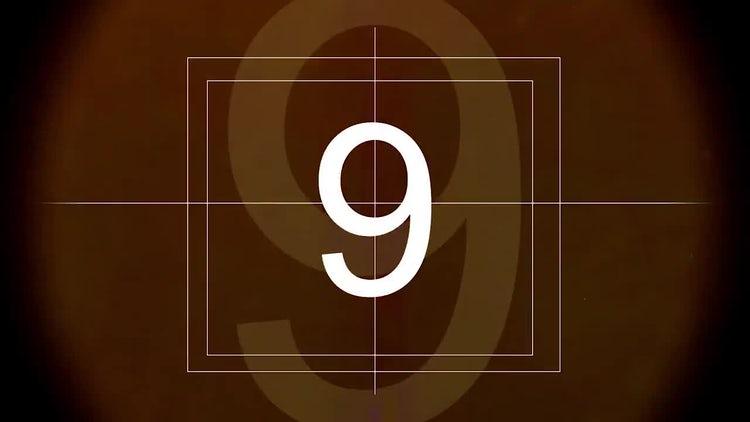 Film Leader Countdown: Motion Graphics