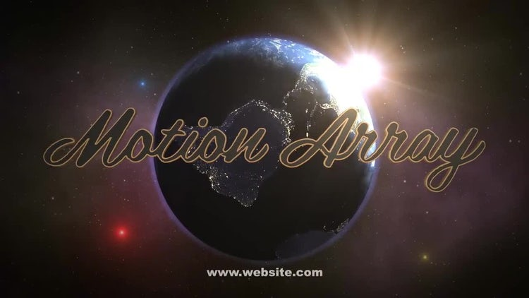 Planet Logo: After Effects Templates