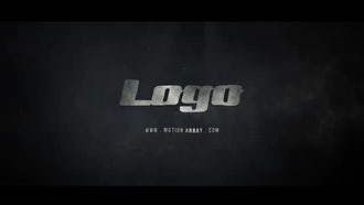 Cinematic Dark Matter Logo: After Effects Templates
