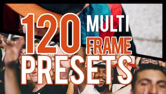 Multiframe Presets: Premiere Pro Templates